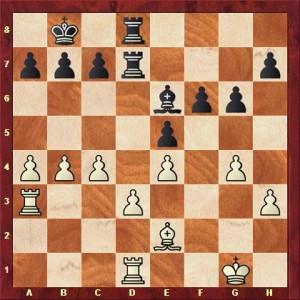 Halbach vs König nach 23. ... Ta3