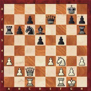 Horn vs Siegbert nach 26. Txa6
