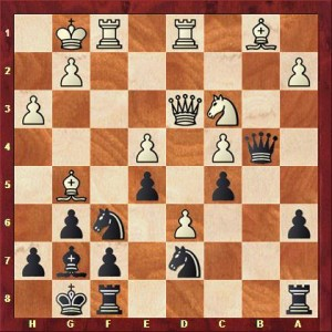 Oberhaus vs Falk nach 19. De3