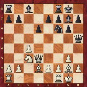 Augner vs Kesseler nach 11. Dh5
