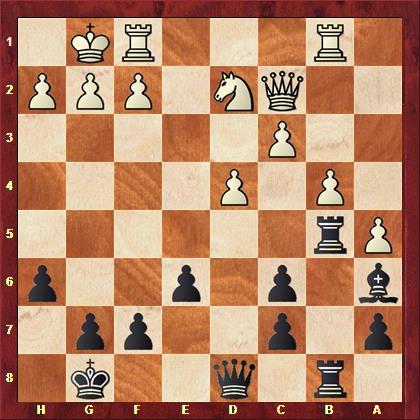 Meckel vs Falk nach 20. 0-0