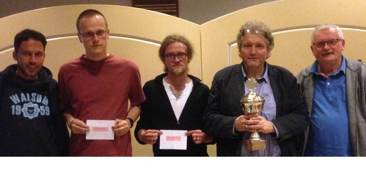 Majed Daher, Philipp Sonnenschein, Dennis Liedmann, Heiko Kesseler, Franz Henneken