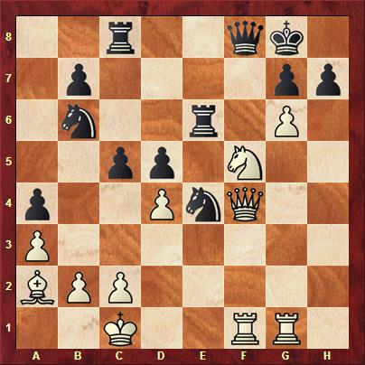 Waagener vs Kowalzick nach 26. hxg6